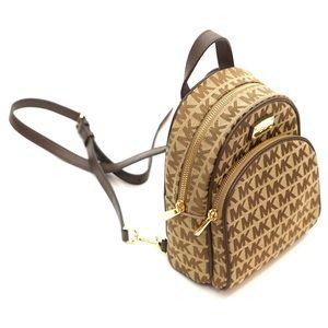 443c37db4822 Michael Kors Bags - Michael Kors Abbey Monogram Mini XS Backpack